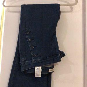 Banana Republic size 27 jeans. Inseam 32.